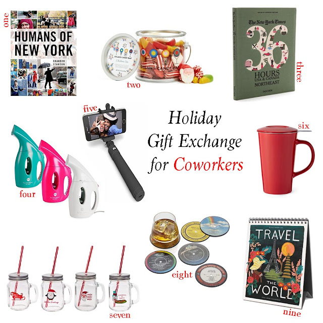 Holiday Gift Exchange for Coworkers, White Elephant Gift Ideas, Holiday Gifts under $20, Gift Ideas for Work; Holiday Gift Inspiration; White Elephant Exchange for coworkers