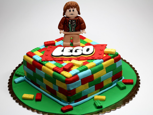 LEGO children birthday cake