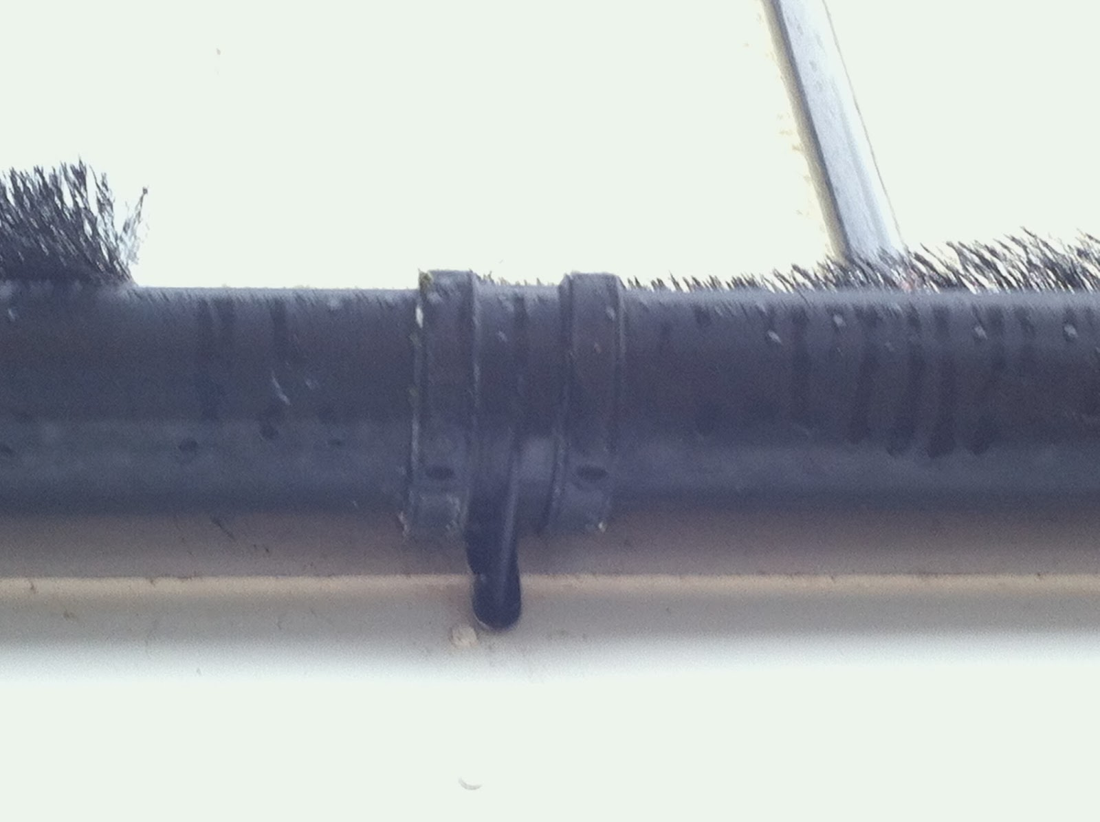 Mending Things Fixing A Leaking Gutter