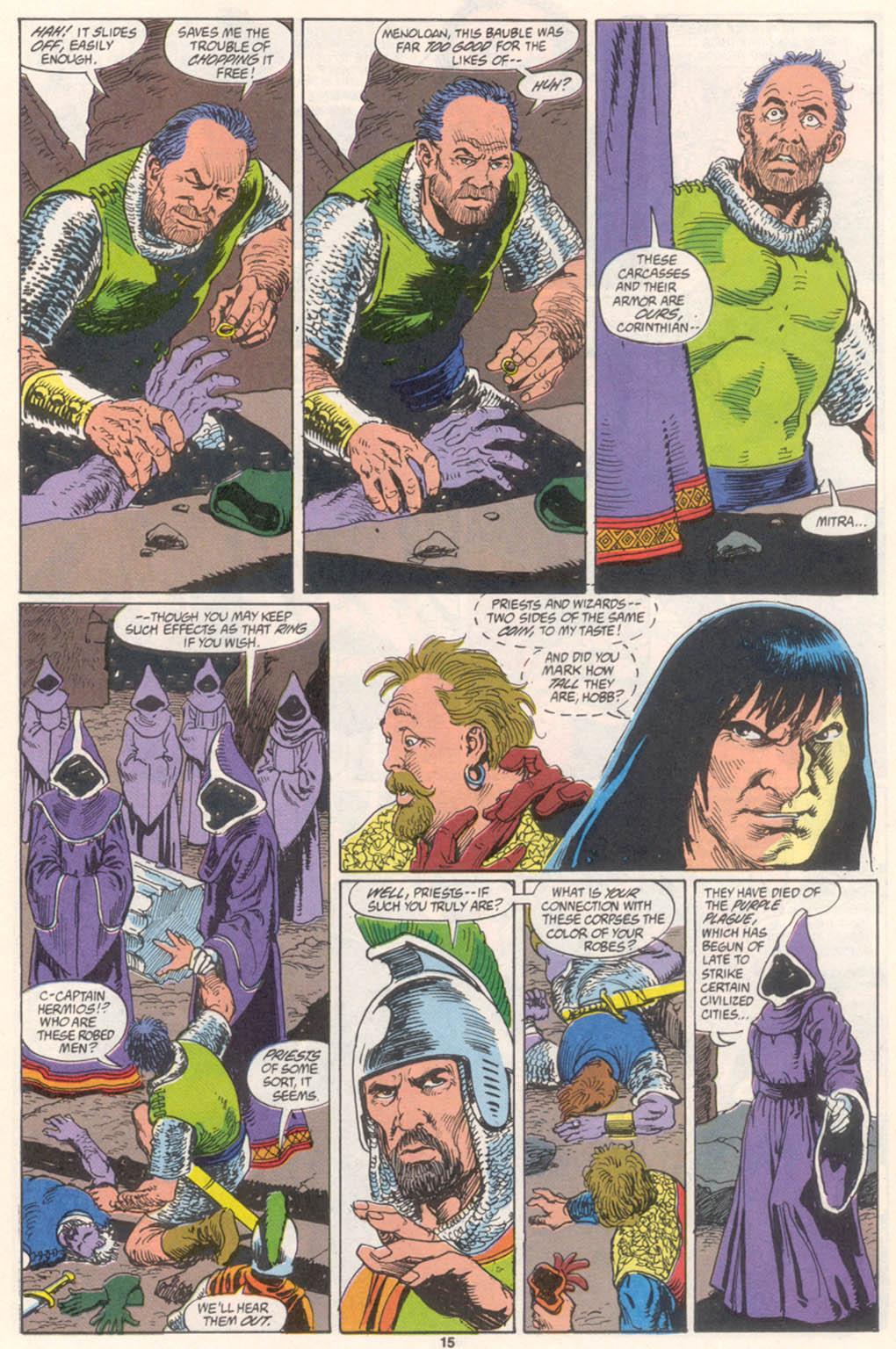 Conan the Barbarian (1970) Issue #255 #267 - English 12