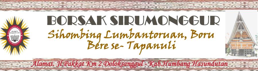 BORSAK SIRUMONGGUR-SIHOMBING LUMBANTORUAN
