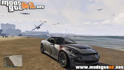 V - Mod Angry Planes para GTA V PC