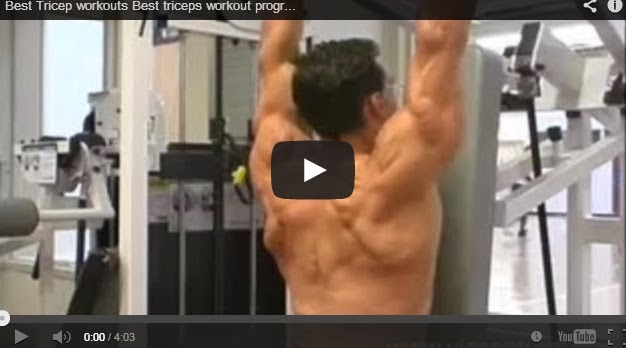 BodyBuilding & Fitness: Best Tricep workouts Best triceps ...