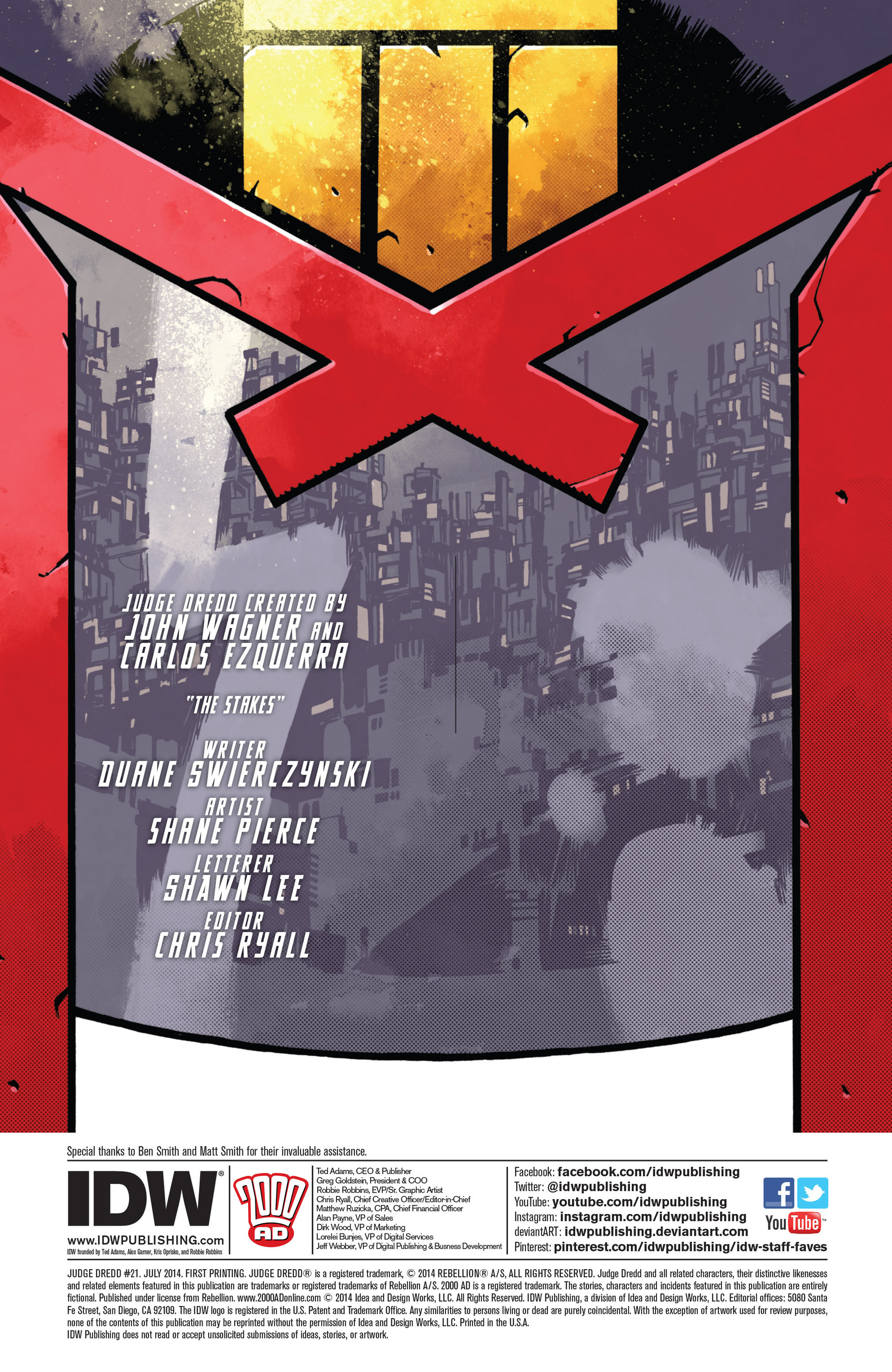 Read online Judge Dredd (2012) comic -  Issue #21 - 2