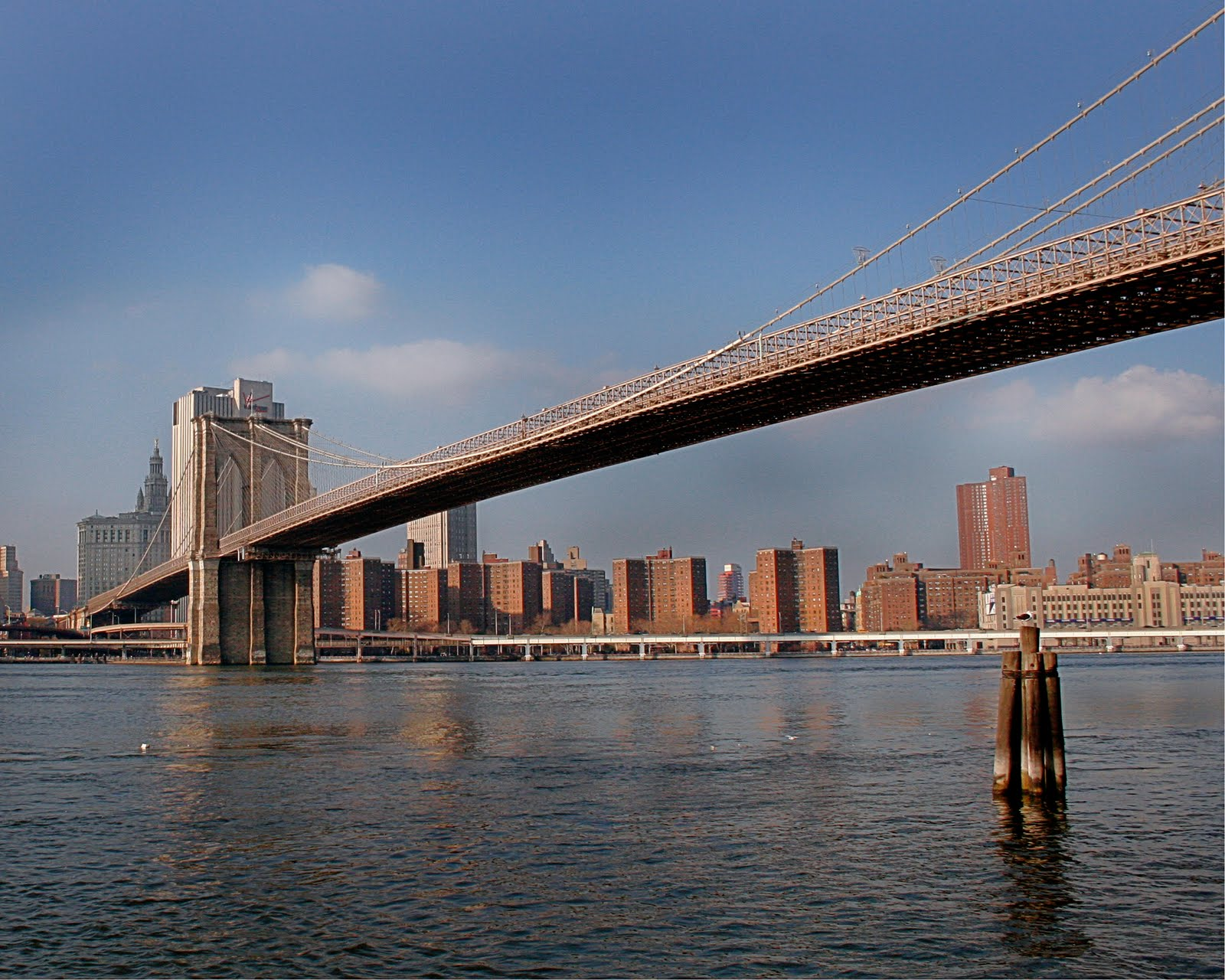 FreeBrooklyn Bridge Desktop Wallpapers