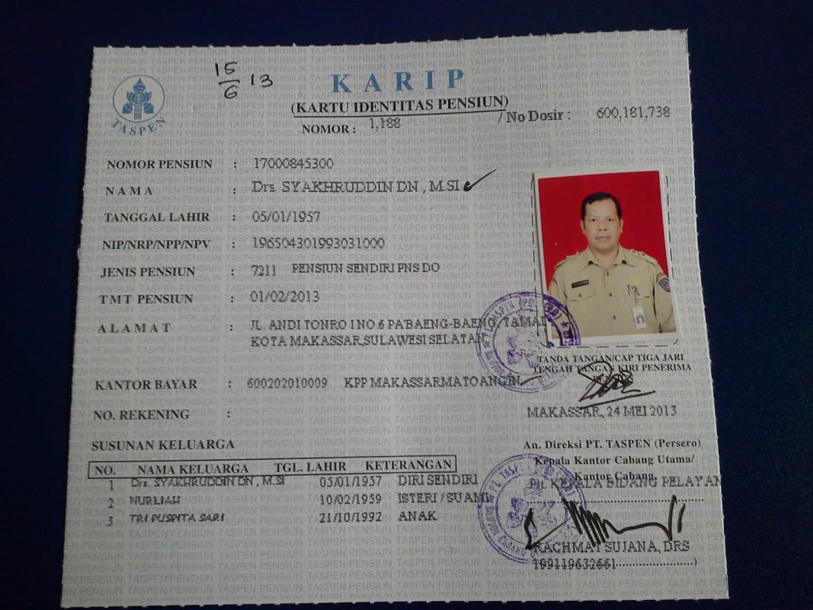 Karip Sudah Tiba Syakhruddincom