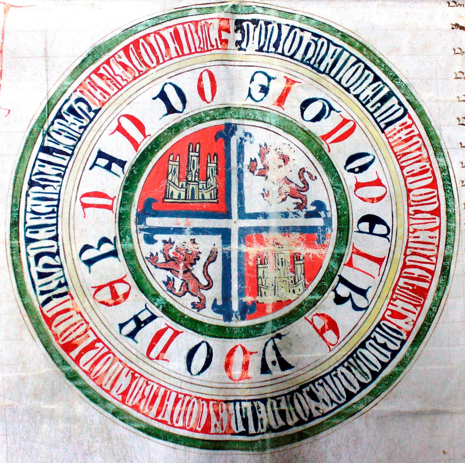 Fernando III de Castilla y León. Signo rodado
