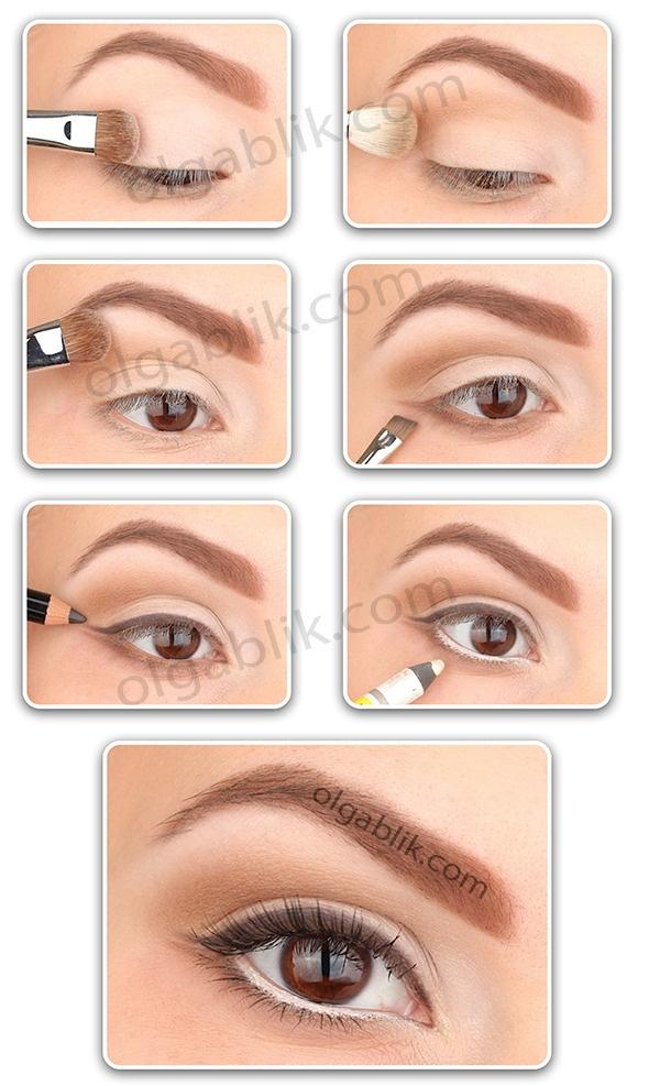 how to change eye crease line