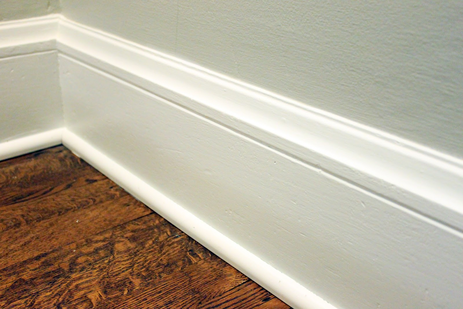 Wood baseboard in bathroom - Beautiful Bathroom Redo Part Six Toilet Flushed On Home Depot Molding Profiles With Baseboard In Bathroom