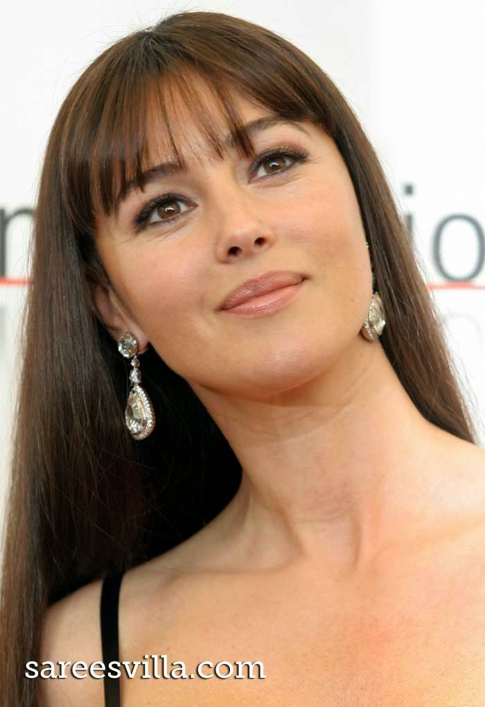 Hollywood actress Monica Bellucci