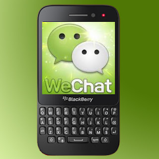 WeChat on BB10