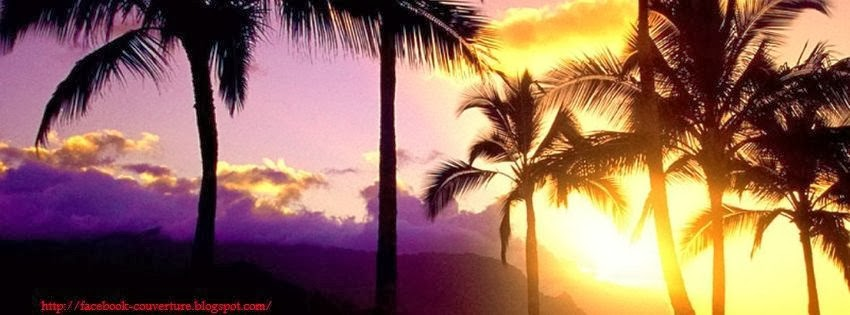 Couverture facebook plage tropicales