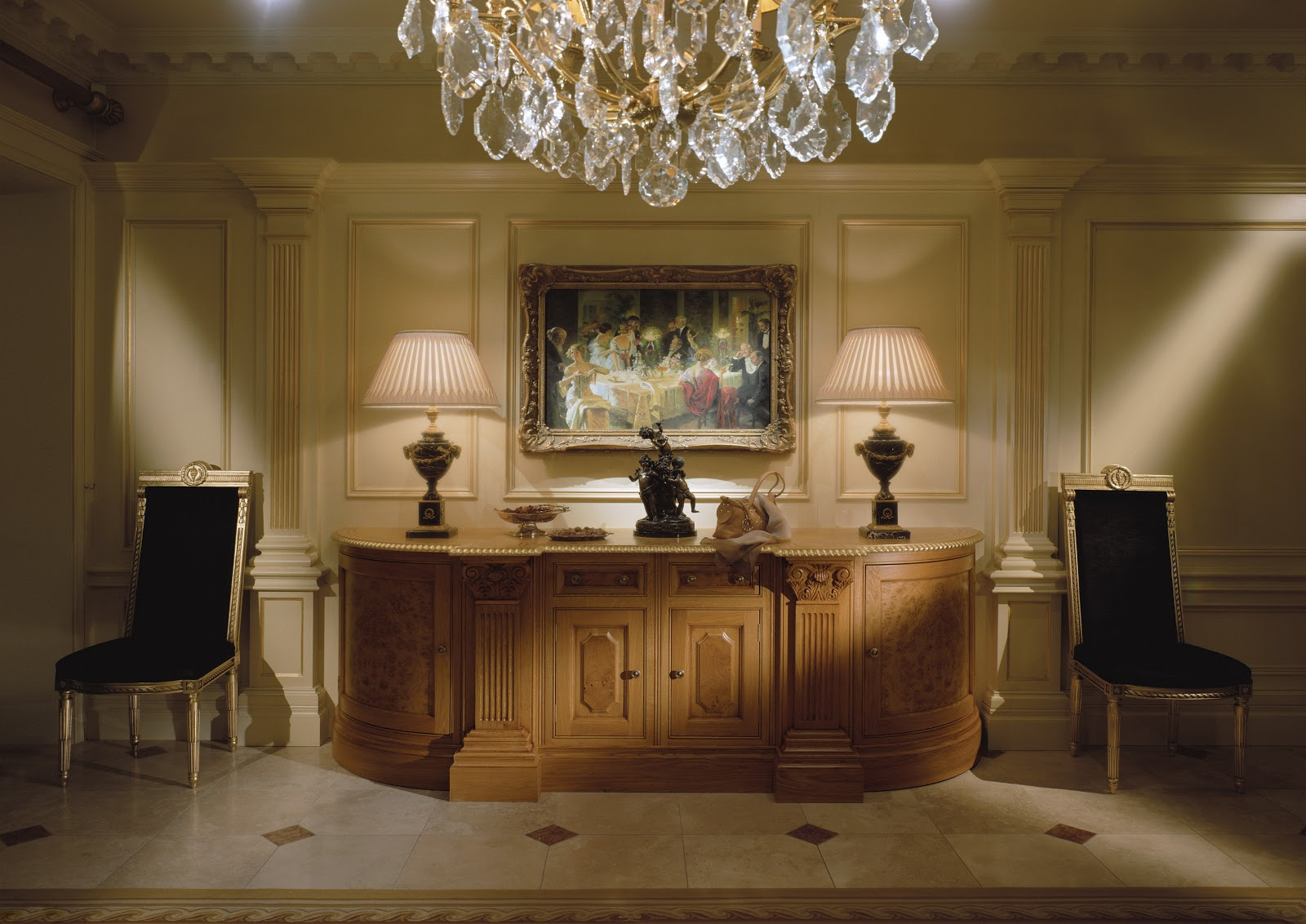 TRADITION INTERIORS OF NOTTINGHAM: Clive Christian Warm Luxe Furniture