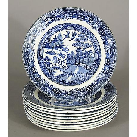 Piatto Ceramica inglese
