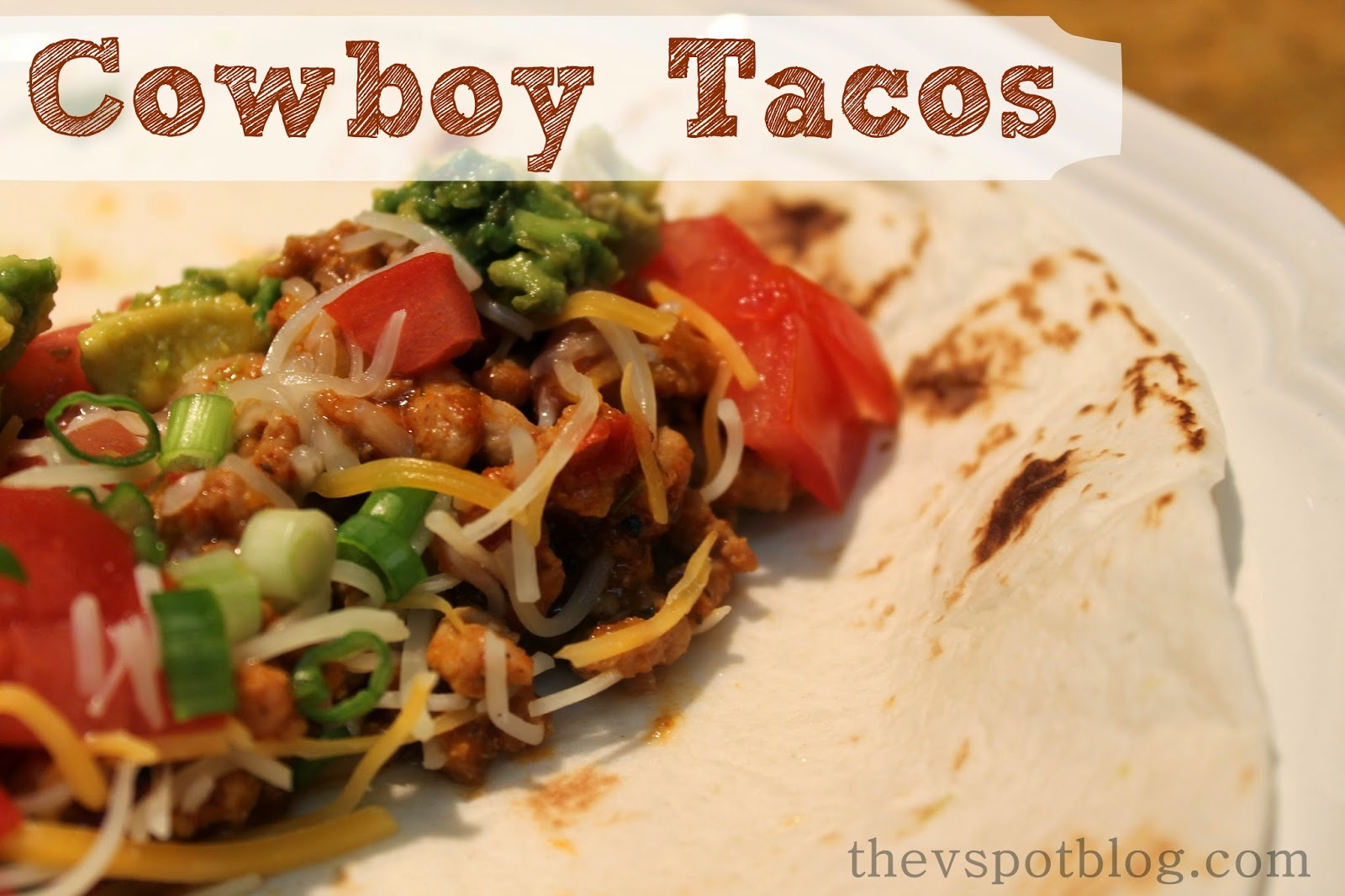 Cowboy Tacos - a spicy sweet pork taco recipe with a surprise ...