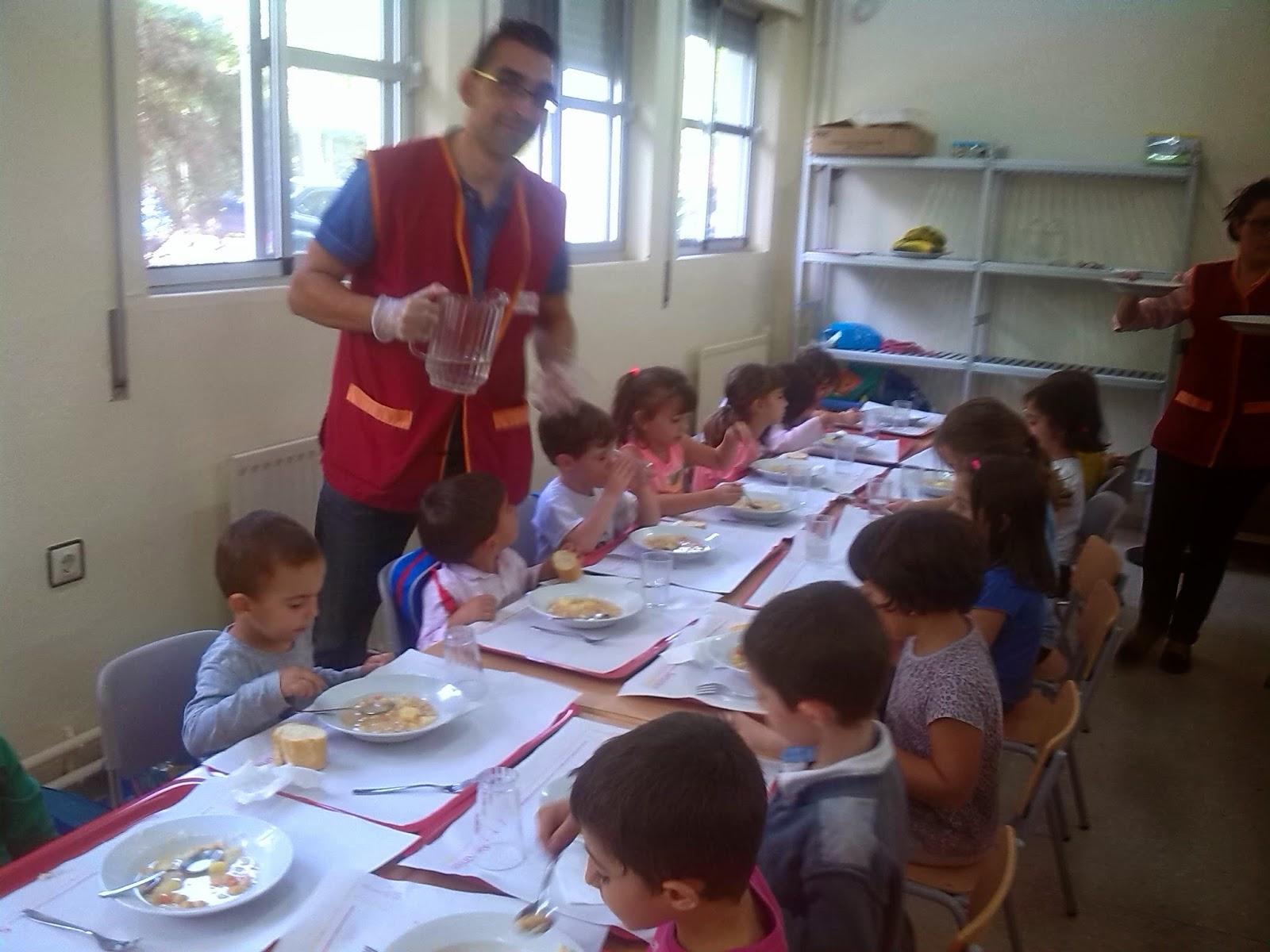 Educaci n infantil ceip padre manjon comienza el comedor for El comedor escolar