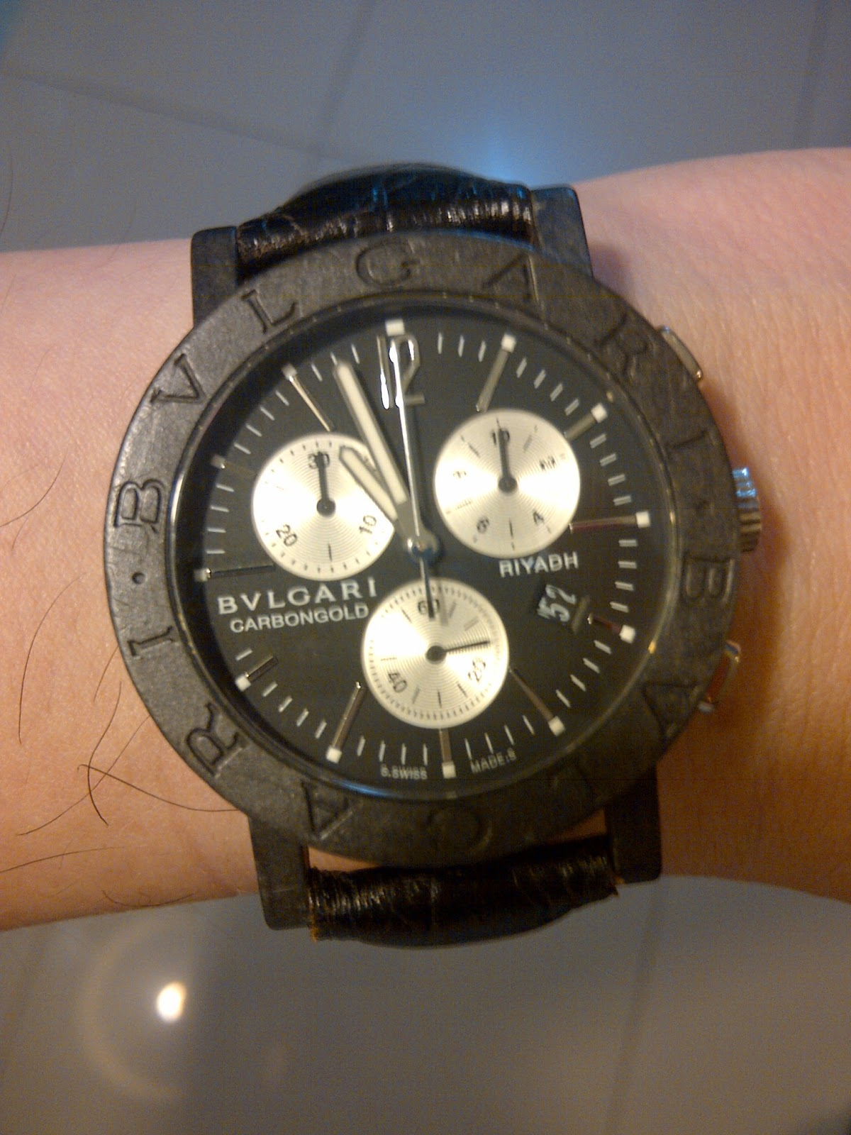 Lundby Kok Special Edition : BULGARI CARBON GOLD LIMITED EDITION (SOLD)  Jam tangan mewah second