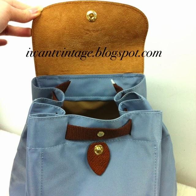 I Want Vintage   Vintage Designer Handbags  Longchamp Le Pliage ... ff17e0edab
