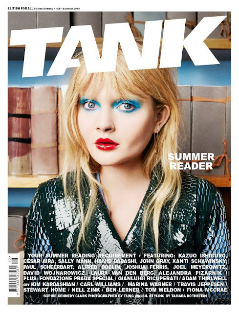 Actress @ Sophie Kennedy Clark by Tung Walsh for Tank Summer 2015