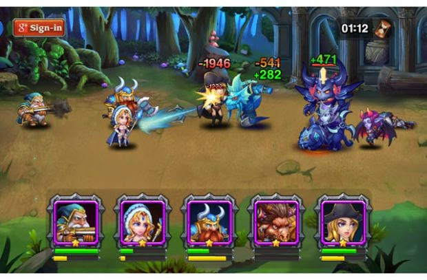 Heroes Charge Hile Android Apk