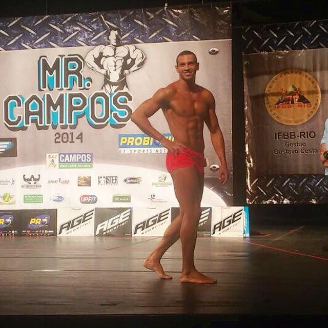 Breno Neves no palco do Mr. Campos Foto: Instagram/Reprodução