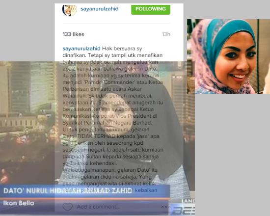 Anak Zahid Hamidi Tampil NAFI Dapat Dato Kerana Perbarisan Wataniah