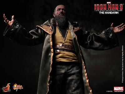 "Hot Toys 1/6 Scale Iron Man 3 The Mandarin 12"" Figure"