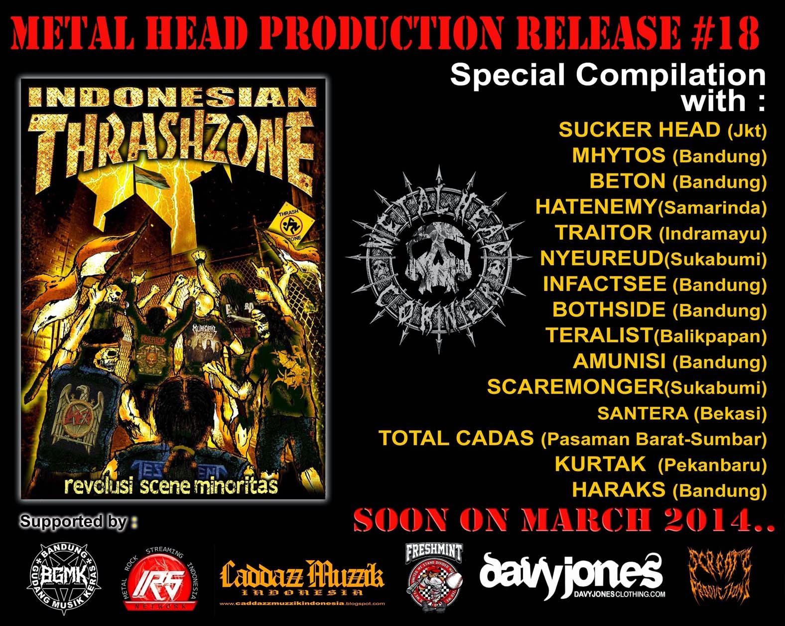Indonesian Thrash Zone Compilation