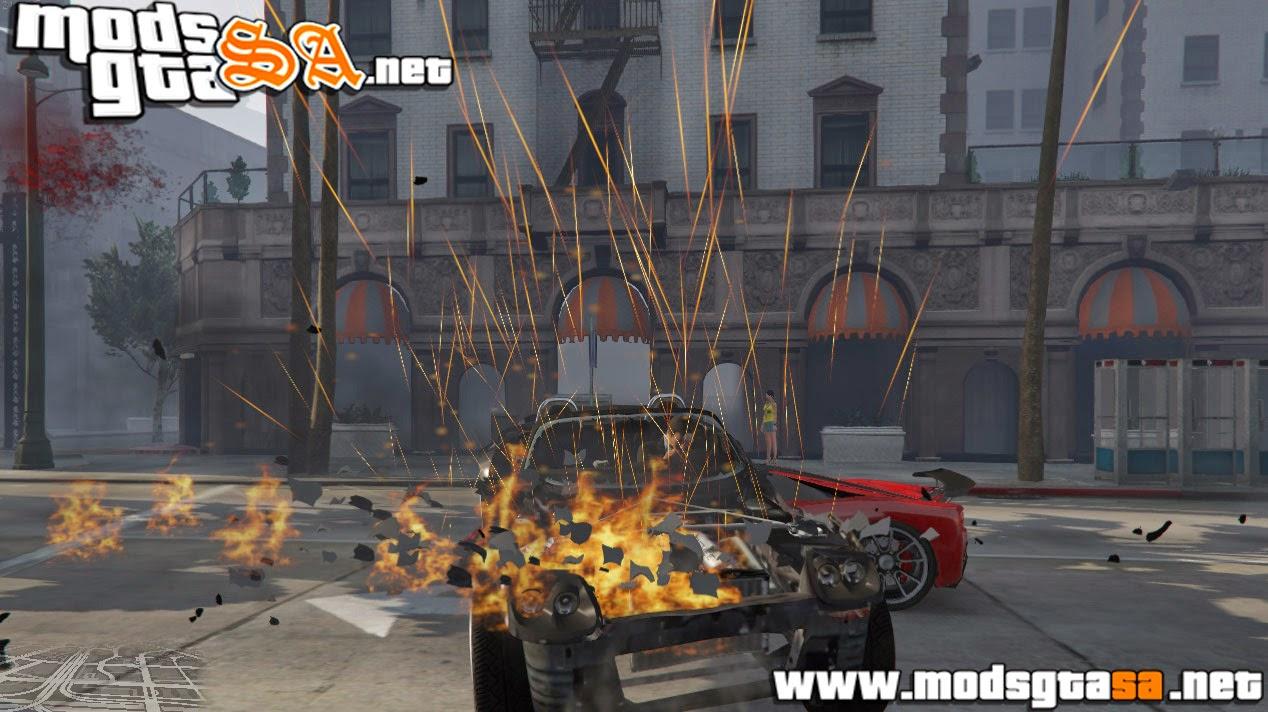 V - Mod Carro com Super Velocidade para GTA V PC