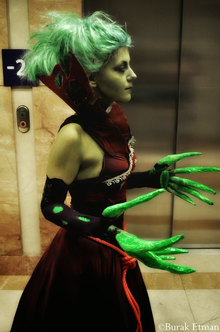 Dota 2 Cosplay Death Propher