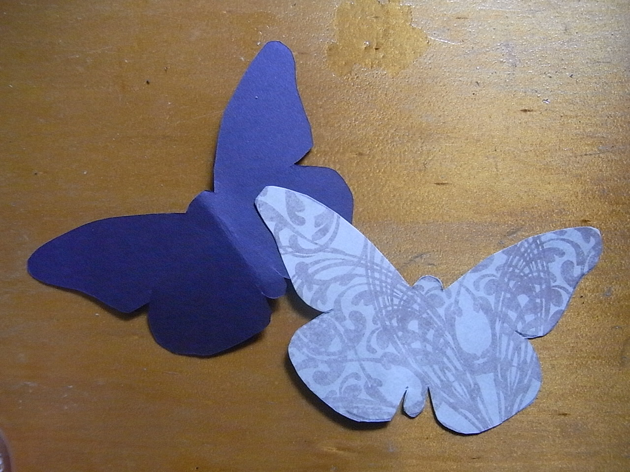 lilcammo93 butterfly wall art diy how to
