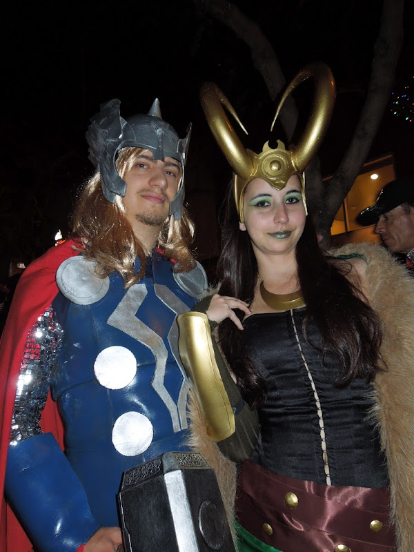 Thor Loki West Hollywood Halloween Carnaval