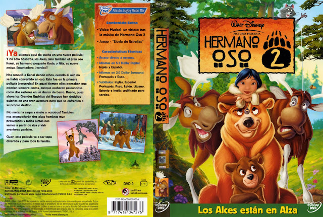 Hermano Oso 2 Dvd