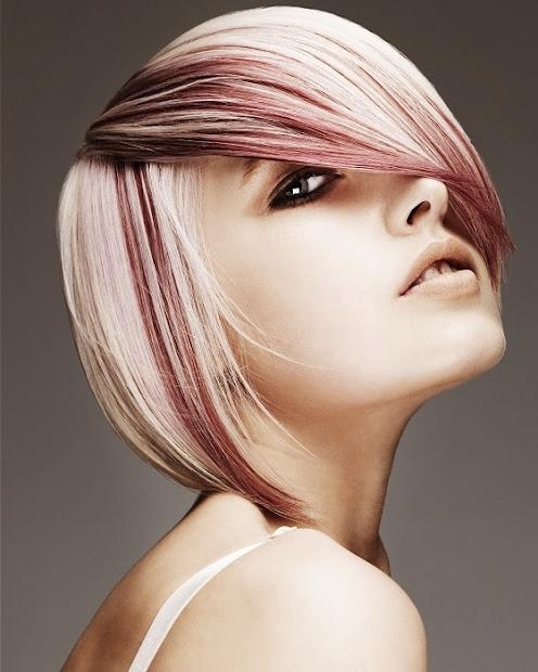 2 tone hair color ideas short