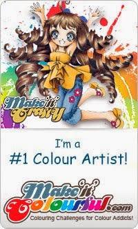I'm a winning colorist!