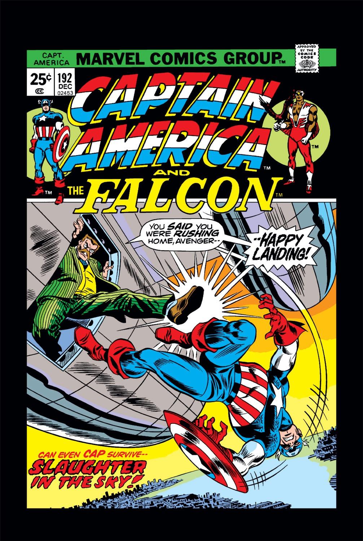 Captain America (1968) Issue #192 #106 - English 1