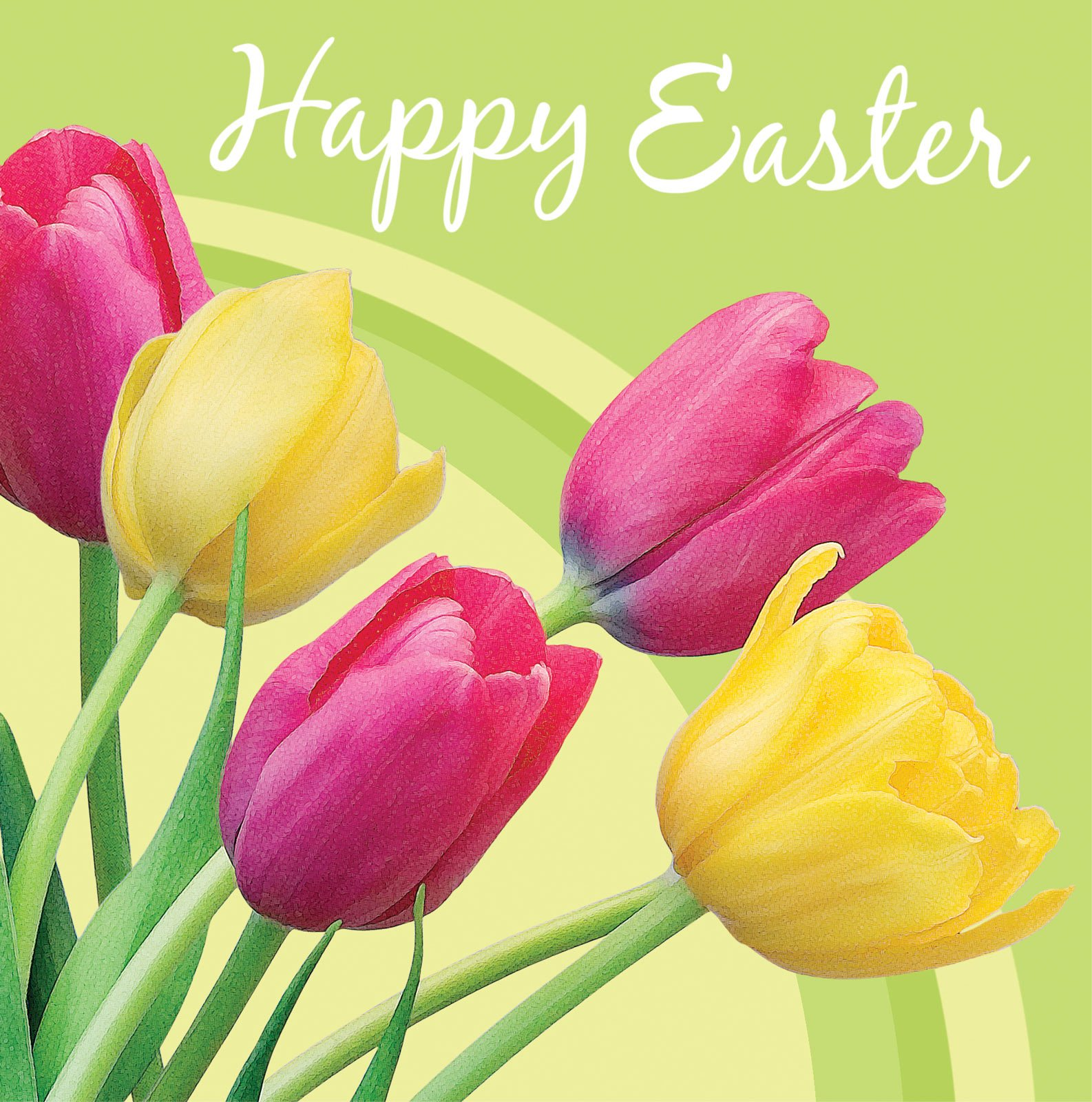 Happy Easter Beautiful Flowers Wallpapers