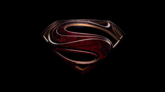 man of steel S Symbol hope