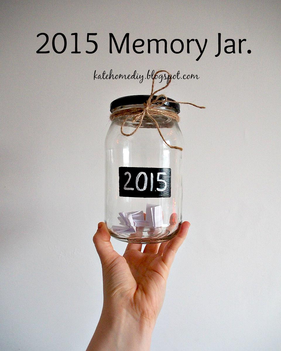 DIY: 2015 Memory Jar!