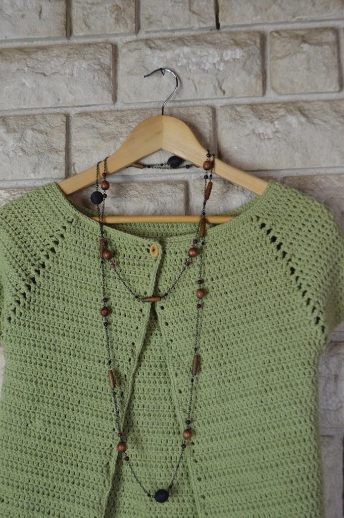Patron chaqueta mujer crochet