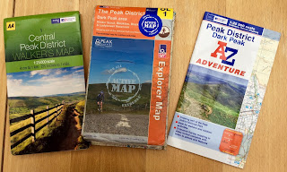 1:25000 Ordnance Survey mapping for walkers