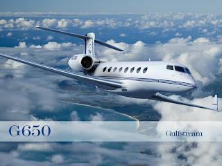 Gulfstream, Pesawat jet carter mewah pemulangan Nazaruddin