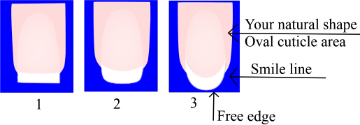 how to shape your nails oval