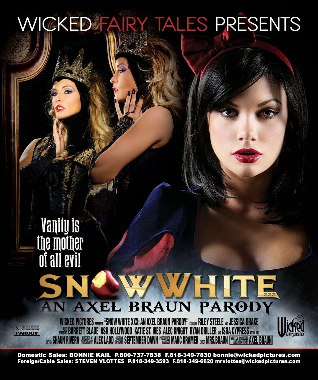 Fairytale-inspired porn movies, including Snow White and Cinderella