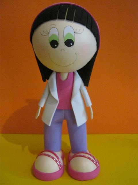 Muñecos hechos de foami - Imagui