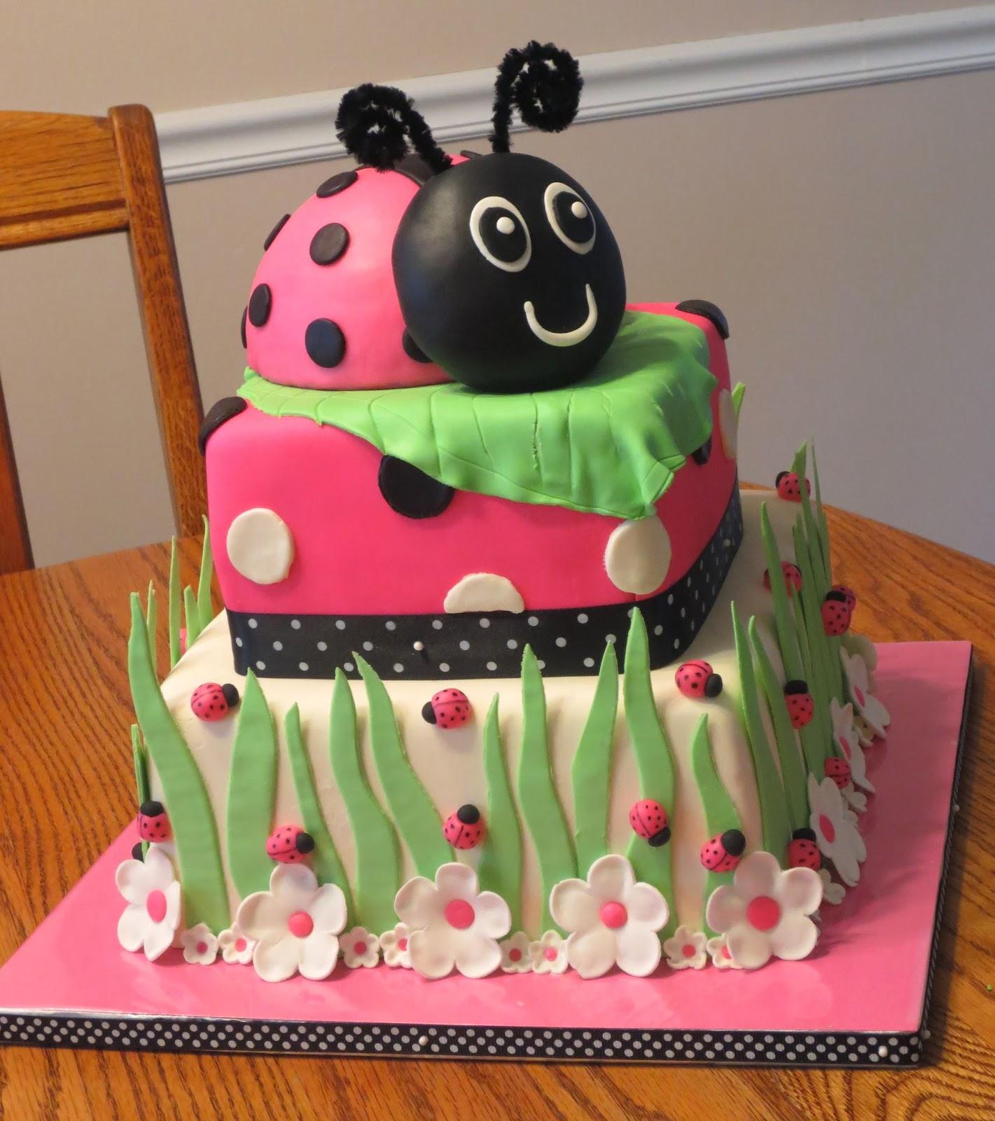 Js Cakes Ladybug Birthday Cake