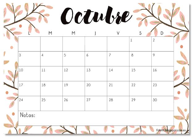 Calendario de actividades y pruebas.