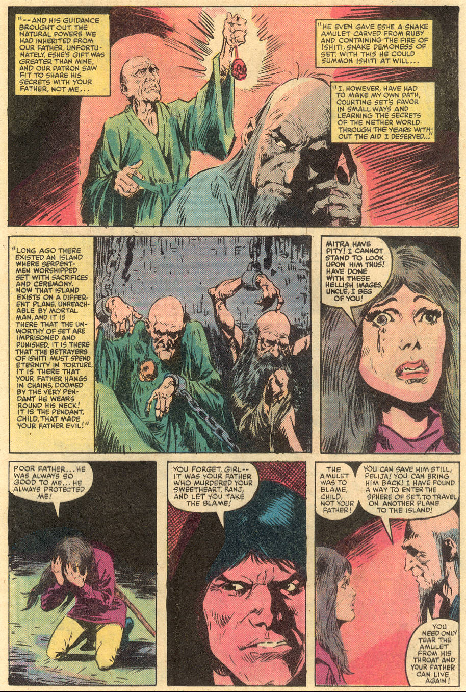 Conan the Barbarian (1970) Issue #138 #150 - English 11