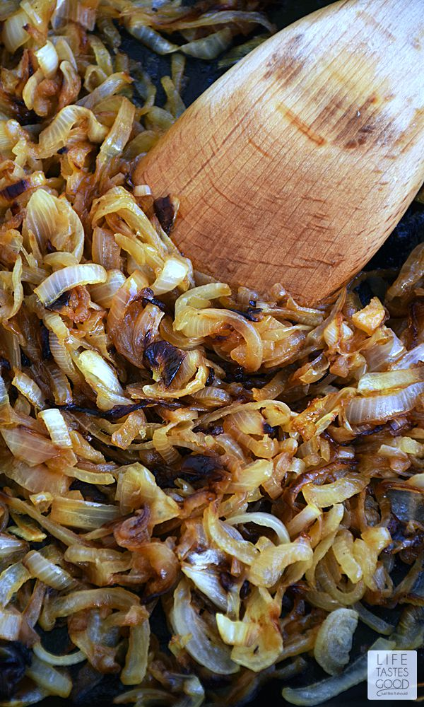 How To Caramelize Onions | by Life Tastes Good #LTGRecipes