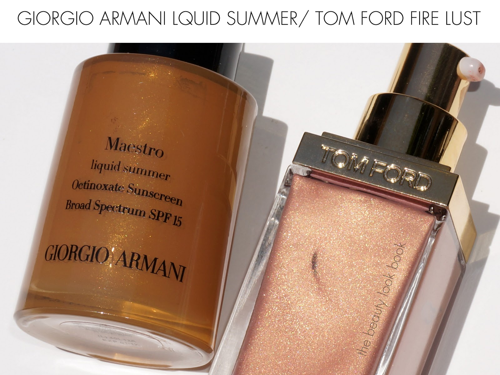 how to use armani liquid bronzer
